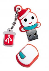 8GB Patriot Holiday Snowman USB Flash Drive