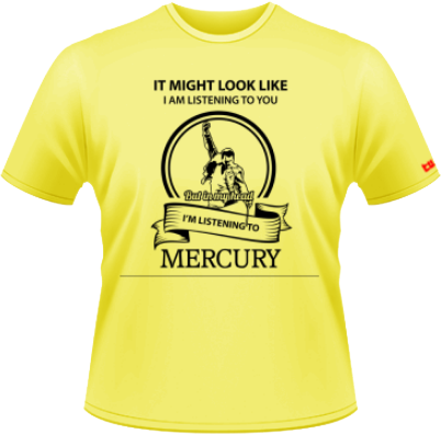 Listening to Mercury - galben - Stedman - L