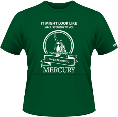 Listening to Mercury - verde - SolS Regent - M