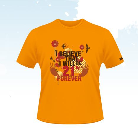 TRICOU 21 Forever - M - Fruit of the Loom