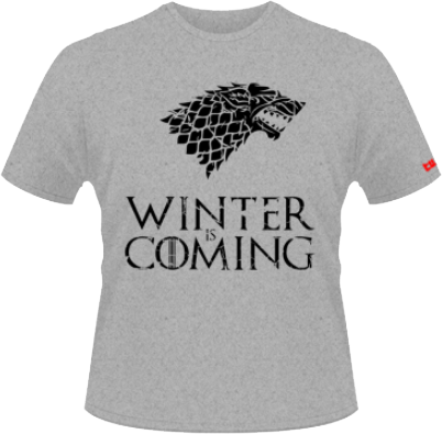 Winter is coming - gri  - SolS Regent - XXXL