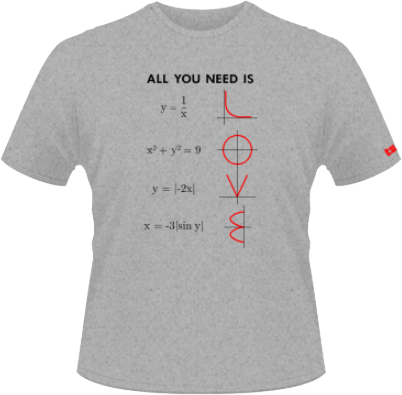 All You Need Is Love, Mathematically - Gri - Sol's - XL