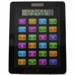 Calculator solar ca un iPad