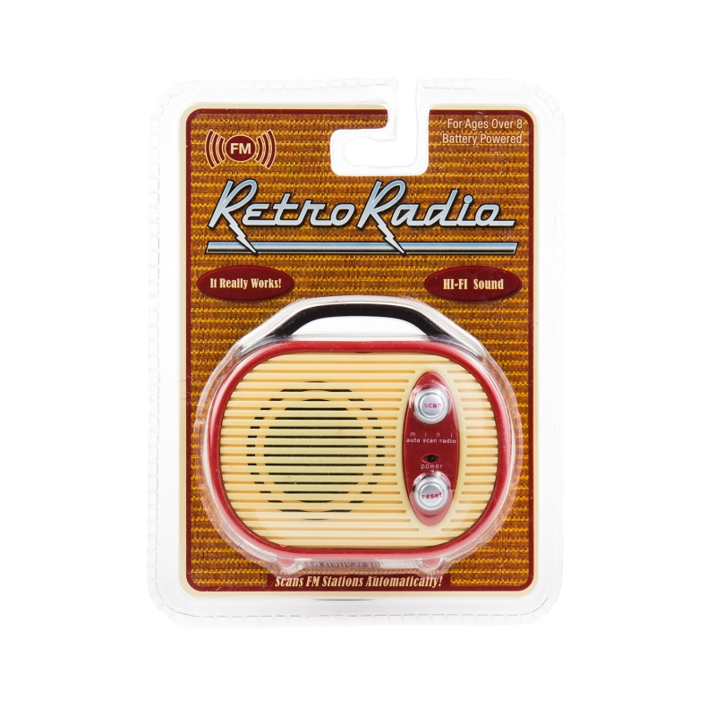 Mini Radio Retro
