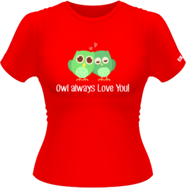 Owl Always Love - Rosu - M - Adler