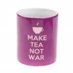 "Cana Termosensibila  ""Make Tea Not War""'"