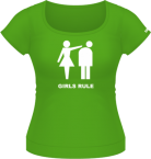 Girls Rule - XL - Verde - Adler'