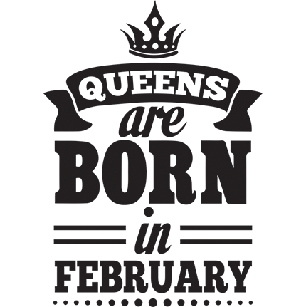 Queens are born in ...
