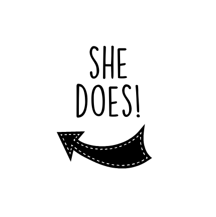 She does! (run the world)