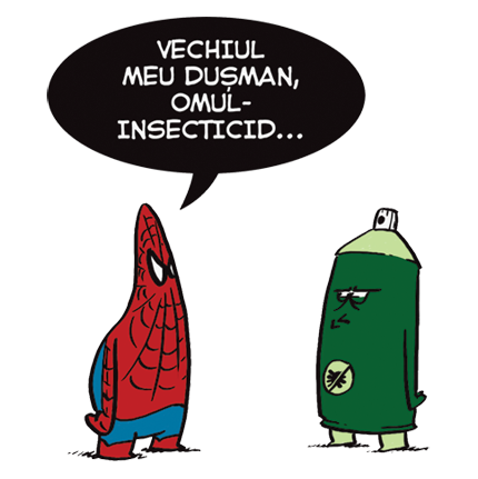 Spiderman vs. Omul-Insecticid