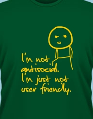 Not antisocial'