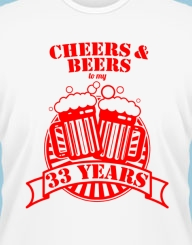 Cheers and Beers to my XX years!
