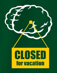 Closed For Vacation