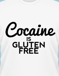 Cocaine Is Gluten Free