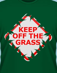 Keep off the Grass!'