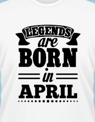 Legends are born in...