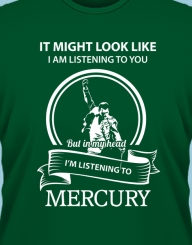 I'm listening to Mercury