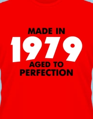 Made in (anul nasterii). Aged to perfection.