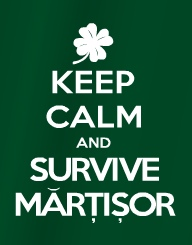 Keep Calm and Survive Martisor'