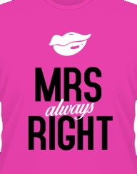 Mrs. Right