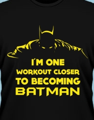 One Workout Closer to Batman