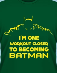 One Workout Closer to Batman'