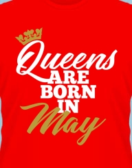 Queens are born in ... gold'