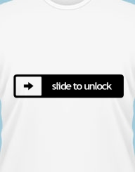 Slide to unlock'