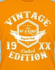 Vintage Limited Edition 19XX'